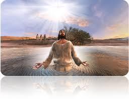 Image result for jesus getting baptized