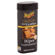 meguiar s gold class rich leather wipes leather cleaner conditioner g10900 25 wipes com