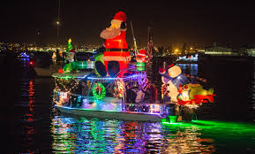 Mission Bay Parade Of Lights 2018 Mission Bay Christmas Boat Parade Of Lights In San Diego