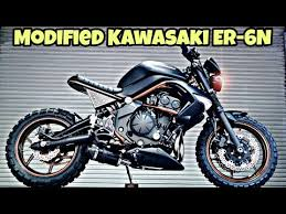 modified kawasaki er 6n into street