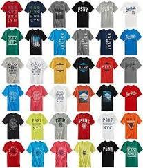 Details About P S Kids Aero Aeropostale Boys T Shirt T Tee Shirt Size 5 6 7 8 10 12 14 New