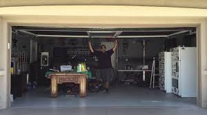 retractable garage screen door