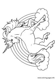 Rainbow Unicorn Unicorn Coloring Pages Unicorn Birthday Unicorn