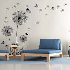 dandelion wall decal wall stickers dandelion art decor vinyl large peel and stick mural on wall art decoration vinyl decal sticker with shop dandelion wall decal wall stickers dandelion art decor vinyl