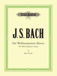 Das Wohltemperierte Klavier, Teil 1 BWV 846-869