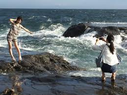 Mikarikaフリー素材アイドル On Twitter 江ノ島の海 フォト