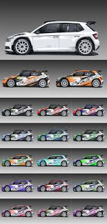 Design Racing Design Of Rally Racing Liveries For Modern Rally Racing Cars