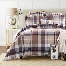 duvet cover set bedding cotton fabric bedding checd plaid plaid duvet covers king