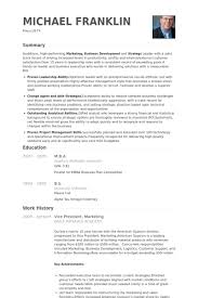 Vp Marketing Resume