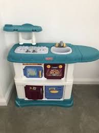 Wonderful Fisher Price Grow With Me Kitchen Toy Play Set Adjustable Height Role Play