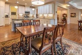 perfect dining room rug size