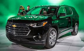 2018 Chevrolet Traverse Photos and Info – News – Car and Driver