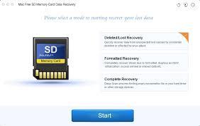 mac free sd memory card data recovery