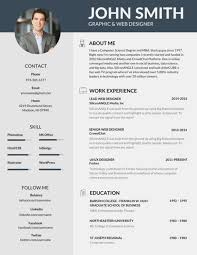 Resume Templates With Photo Custom 48 Most Professional Editable Resume Templates For Jobseekers R