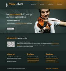 Music Website Templates Awesome 28 Music Website Templates DreamTemplate