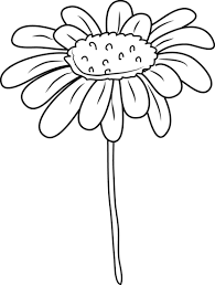 Small Picture Daisy Flower Coloring Page Free Clip Art