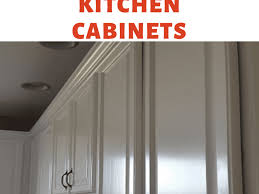 Be warned though, it won't go far, and if you're planning on painting your entire kitchen, you're better using a spray gun and buying the paint separately to save money. Tips For Spray Painting Kitchen Cabinets Dengarden Home And Garden