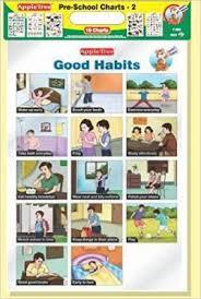 Preschool Wall Charts Apple Tree Preschool Charts 2 Pack Of 10 Charts 13 5 Inch 19 5 Inch Wall Chart
