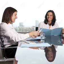 recruiter checking the candidate during job interview stock photo recruiter checking the candidate during job interview stock photo 16449107