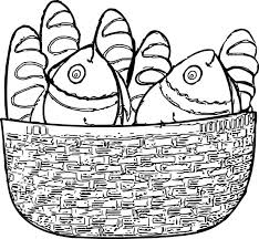 Small Picture Loaves And Fishes Coloring Printable Coloring Coloring Pages