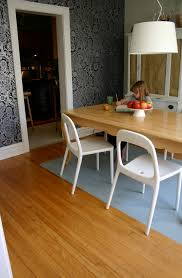 rug for dining room table. with children in the house, a painted dining room floor is perfect alternative to rug. | family chic by camilla fabbri ©2009-2015. rug for table n