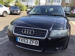 audi a4 2004 black. 2004 audi a4 18t cabriolet convertible 5 seatsblack color53 reg audi black