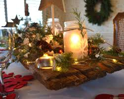 christmas centerpieces for dining room tables. Creative Lit Up House Decoration On Christmas Table Centerpieces For Dining Room Tables M