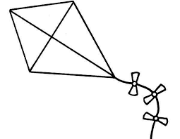 Small Picture Kite Coloring Pages Clipart Panda Free Clipart Images