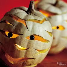 Adorable Mummy Pumpkins