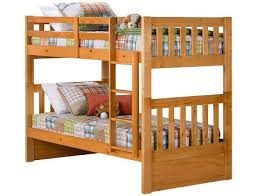 ... Knollwood Collection - Honey Twin/Twin Bunk Bed