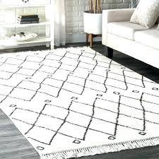 black and white rugs off rug cabin diamond tassel area bathroom black and white rugs