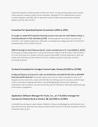 Application Consultant Sample Resume
