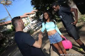 Gorgeous black Girl Jezabel Vessir fucks white Rod 1 of 2