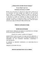 Formato Certificado Laboral Word Rome Fontanacountryinn Com