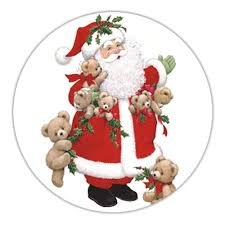 Beary Christmas Envelope Seals - Storkie