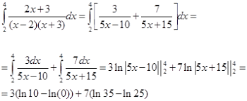Контрольная работа Интегралы Функции переменных Итак a 3 5 b 7 5 зная эти коэффициенты вычисляем интеграл