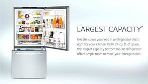 refrigerator with internal water dispenser. Internal Water Dispenser Bottom Freezer Refrigerator With Lg Cu Ft Capacity C