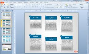 business process template business process powerpoint templates free business development