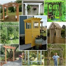 Small Picture Garden Design Garden Design with Brilliant DIY Backyard Arbor