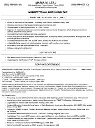 Preschool Resume Objective Resume Objective For Teaching Resume 19