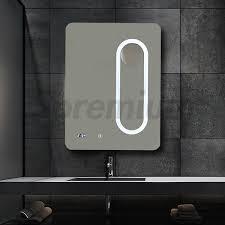 led bathroom magnifying mirror wall