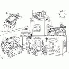 25 Ontwerp Lego City Politiebureau Kleurplaat Mandala Kleurplaat