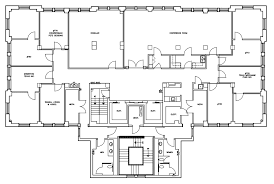office space floor plan. Seventh Floor Office Space Plan