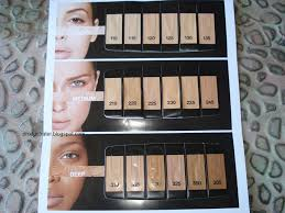 Maybelline Fit Me Colour Chart Productrater Maybelline Fit Me Foundation Swatches
