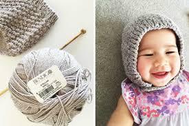 Baby Bonnet Knitting Pattern Interesting Inspiration Design