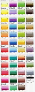 Daler Rowney Artist Soft Pastel Colour Chart