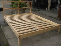 How To Build Platform Bed Frame