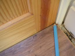 Lay A Piece Of The Underlay That You Are Using And Lay A Piece Of Laminate  On Top Of The Underlay.