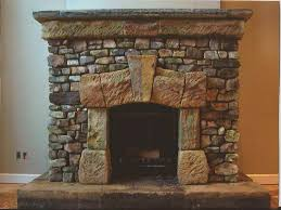 post fireplace hearth stone ideas