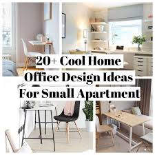 home office design cool. 20 Cool Home Office Design Ideas For Small Apartment